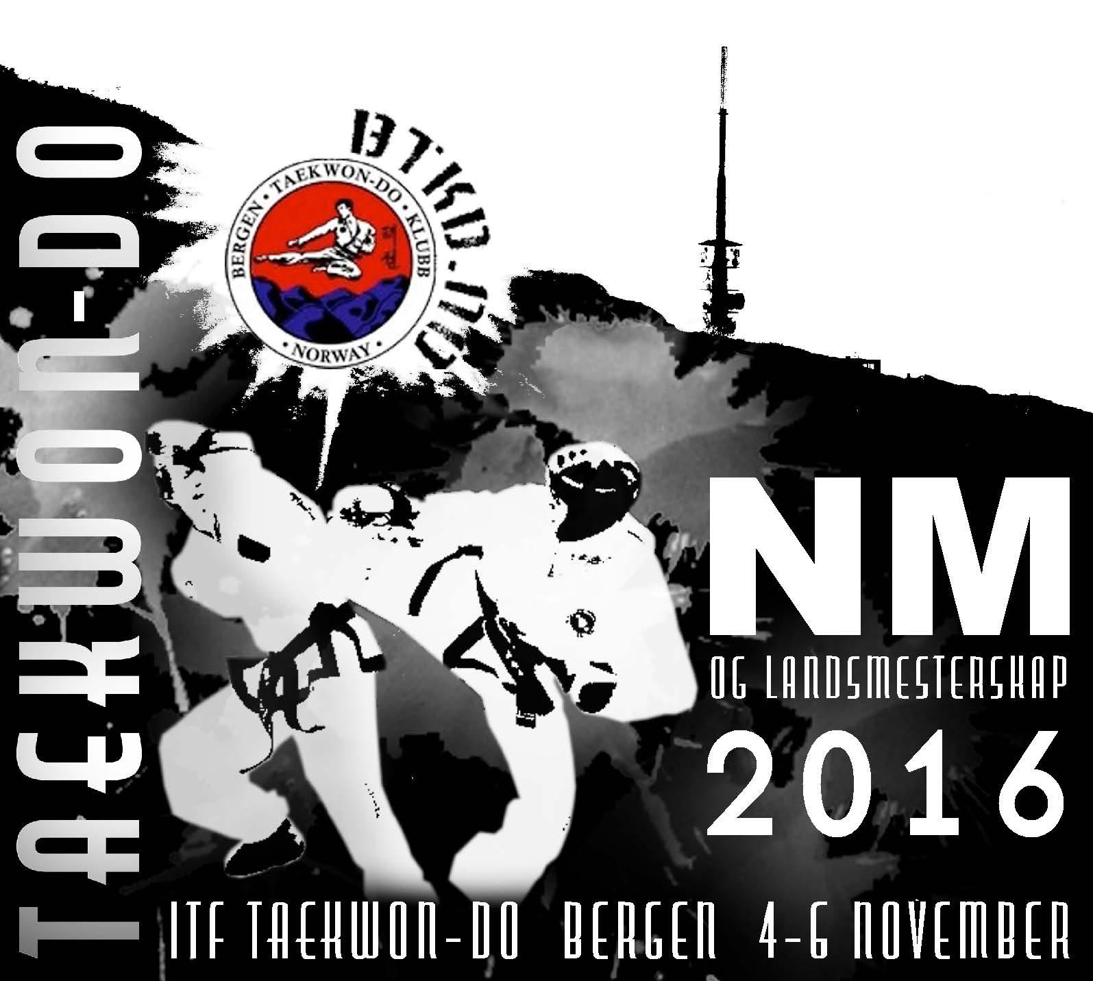 NORGESMESTERSKAP OG LANDSMESTERSKAP I ITF TAEKWON-DO 2016