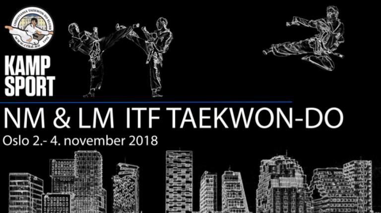 Invitasjon til NORGESMESTERSKAP OG LANDSMESTERSKAP ITF TAEKWON-DO 2018