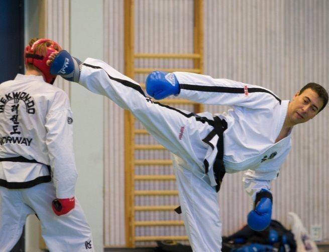 Sparrings-seminar hos Kolbotn Taekwon-Do klubb 15.sept.